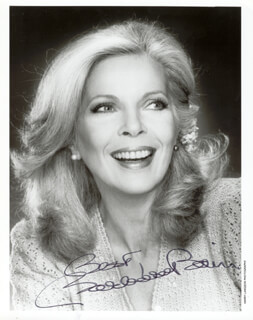 BARBARA BAIN - AUTOGRAPHED SIGNED PHOTOGRAPH
