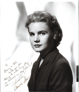 CARROLL BAKER - AUTOGRAPHED INSCRIBED PHOTOGRAPH