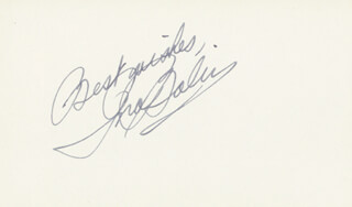 INA BALIN - AUTOGRAPH SENTIMENT SIGNED