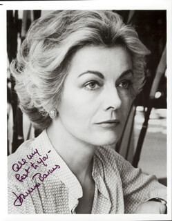 JOANNA BARNES - AUTOGRAPHED SIGNED PHOTOGRAPH
