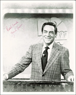 JACK BARRY - AUTOGRAPHED SIGNED PHOTOGRAPH