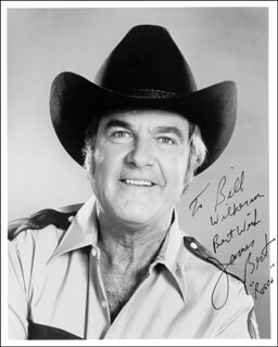 JAMES BEST - AUTOGRAPHED INSCRIBED PHOTOGRAPH
