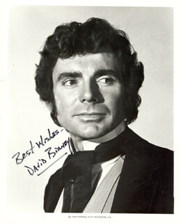 DAVID E. BIRNEY - AUTOGRAPHED SIGNED PHOTOGRAPH