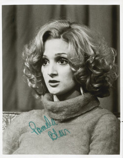 PAMELA BLAIR - AUTOGRAPHED SIGNED PHOTOGRAPH