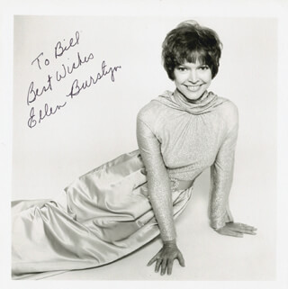ELLEN BURSTYN - AUTOGRAPHED INSCRIBED PHOTOGRAPH