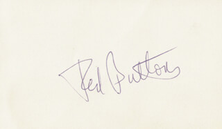 RED BUTTONS - AUTOGRAPH