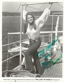 DYAN CANNON - INSCRIBED PRINTED PHOTOGRAPH SIGNED IN INK