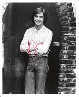 SHAUN CASSIDY - AUTOGRAPHED SIGNED PHOTOGRAPH