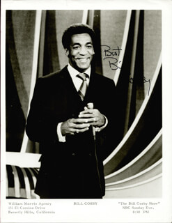BILL COSBY - AUTOGRAPHED SIGNED PHOTOGRAPH