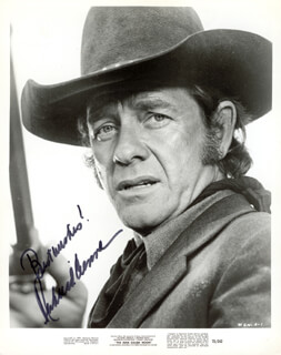 RICHARD CRENNA - AUTOGRAPHED SIGNED PHOTOGRAPH