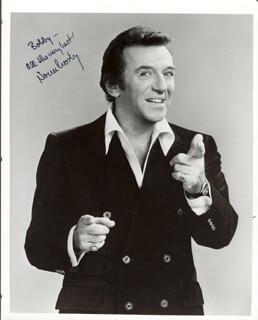 NORM CROSBY - AUTOGRAPHED INSCRIBED PHOTOGRAPH