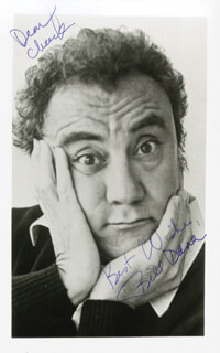 BILL DANA - AUTOGRAPHED SIGNED PHOTOGRAPH