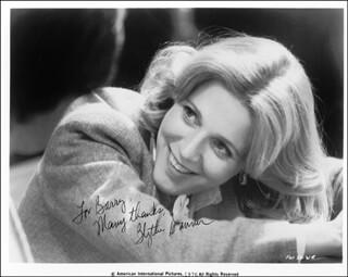 BLYTHE DANNER - AUTOGRAPHED INSCRIBED PHOTOGRAPH 1976