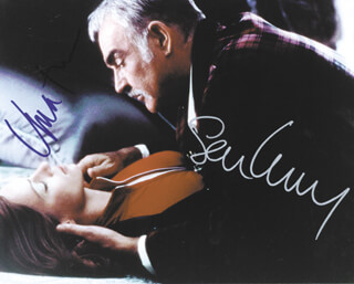 THE AVENGERS MOVIE CAST - AUTOGRAPHED SIGNED PHOTOGRAPH CO-SIGNED BY: SEAN CONNERY, UMA THURMAN