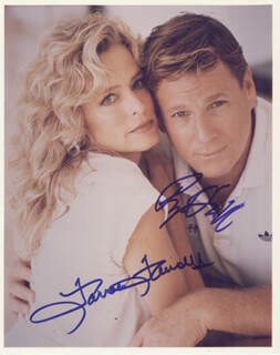 RYAN O'NEAL - AUTOGRAPHED SIGNED PHOTOGRAPH CO-SIGNED BY: FARRAH FAWCETT