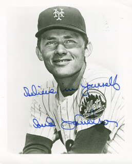 BUD HARRELSON - AUTOGRAPHED SIGNED PHOTOGRAPH
