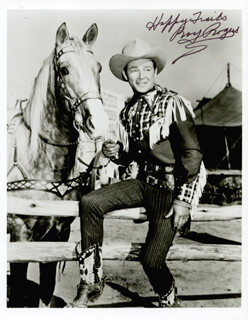 ROY ROGERS - AUTOGRAPHED SIGNED PHOTOGRAPH