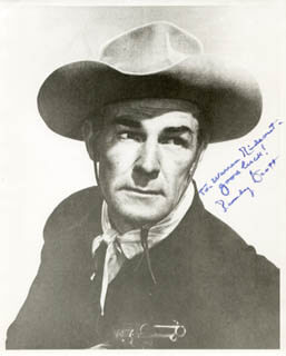 RANDOLPH SCOTT - AUTOGRAPHED INSCRIBED PHOTOGRAPH