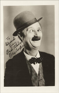 BEN TURPIN - AUTOGRAPHED INSCRIBED PHOTOGRAPH