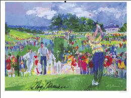 LEROY NEIMAN - ILLUSTRATION SIGNED