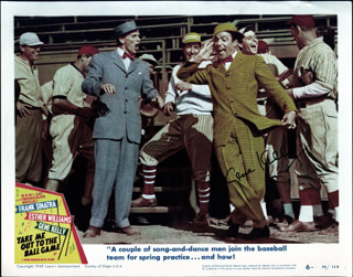 GENE KELLY - LOBBY CARD SIGNED