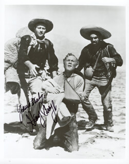 HARRY CAREY JR. - AUTOGRAPHED SIGNED PHOTOGRAPH