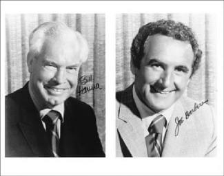 BILL HANNA - AUTOGRAPHED SIGNED PHOTOGRAPH CO-SIGNED BY: JOSEPH BARBERA