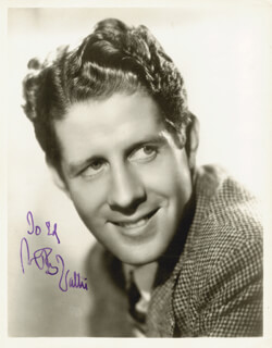 RUDY VALLEE - AUTOGRAPHED INSCRIBED PHOTOGRAPH