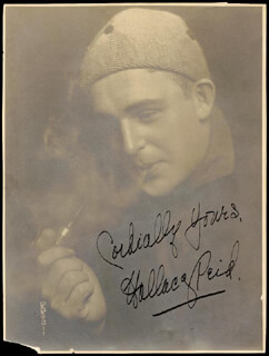 WALLACE REID - AUTOGRAPHED SIGNED PHOTOGRAPH