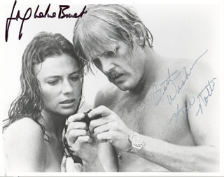 THE DEEP MOVIE CAST - AUTOGRAPHED SIGNED PHOTOGRAPH CO-SIGNED BY: NICK NOLTE, JACQUELINE BISSET