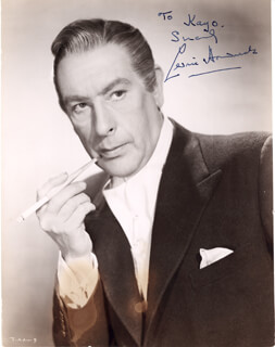 SIR CEDRIC HARDWICKE - AUTOGRAPHED SIGNED PHOTOGRAPH