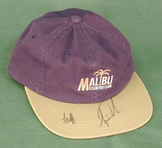 TIGER WOODS - HAT SIGNED CO-SIGNED BY: MIKE FLUFF COWAN