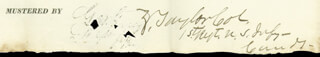 Autographs: PRESIDENT ZACHARY TAYLOR - DOCUMENT SIGNED 8/1/1832
