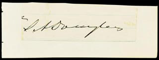 STEPHEN A. LITTLE GIANT DOUGLAS - CLIPPED SIGNATURE