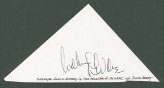 WILLIAM DEVANE - CLIPPED SIGNATURE
