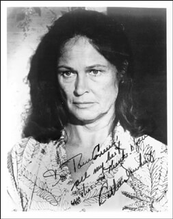 COLLEEN DEWHURST - AUTOGRAPHED INSCRIBED PHOTOGRAPH