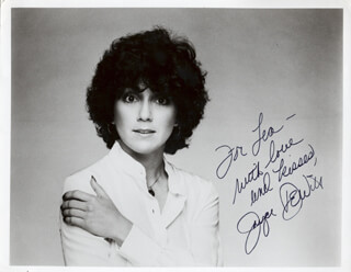 JOYCE DEWITT - AUTOGRAPHED INSCRIBED PHOTOGRAPH