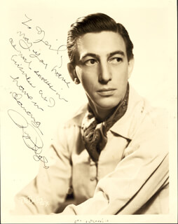 RAY BOLGER - AUTOGRAPHED INSCRIBED PHOTOGRAPH