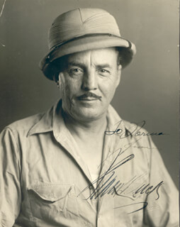 FRANK BRING 'EM BACK ALIVE BUCK - AUTOGRAPHED INSCRIBED PHOTOGRAPH