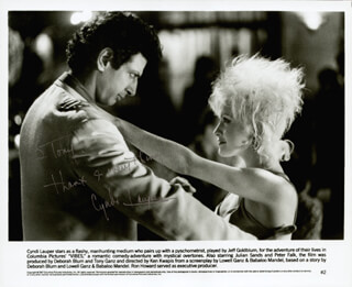 CYNDI LAUPER - AUTOGRAPHED INSCRIBED PHOTOGRAPH