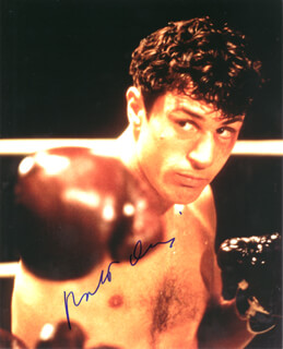 ROBERT DENIRO - AUTOGRAPHED SIGNED PHOTOGRAPH
