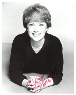NANCY DUSSAULT - AUTOGRAPHED INSCRIBED PHOTOGRAPH