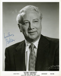 LUTHER ADLER - AUTOGRAPHED SIGNED PHOTOGRAPH