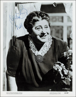 GERTRUDE BERG - AUTOGRAPHED SIGNED PHOTOGRAPH