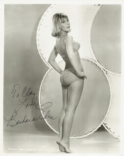 BARBARA EDEN - AUTOGRAPHED INSCRIBED PHOTOGRAPH