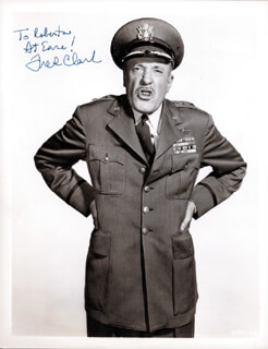 FRED CLARK - AUTOGRAPHED INSCRIBED PHOTOGRAPH