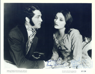 THE BARRETTS OF WIMPOLE STREET PLAY CAST - AUTOGRAPHED SIGNED PHOTOGRAPH CO-SIGNED BY: BRIAN AHERNE, KATHARINE CORNELL