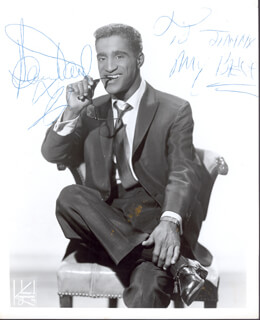 SAMMY DAVIS JR. - AUTOGRAPHED INSCRIBED PHOTOGRAPH