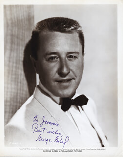 GEORGE GOBEL - AUTOGRAPHED INSCRIBED PHOTOGRAPH