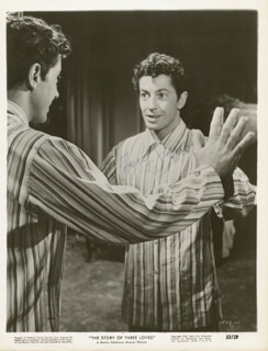 FARLEY GRANGER - PRINTED PHOTOGRAPH SIGNED IN INK